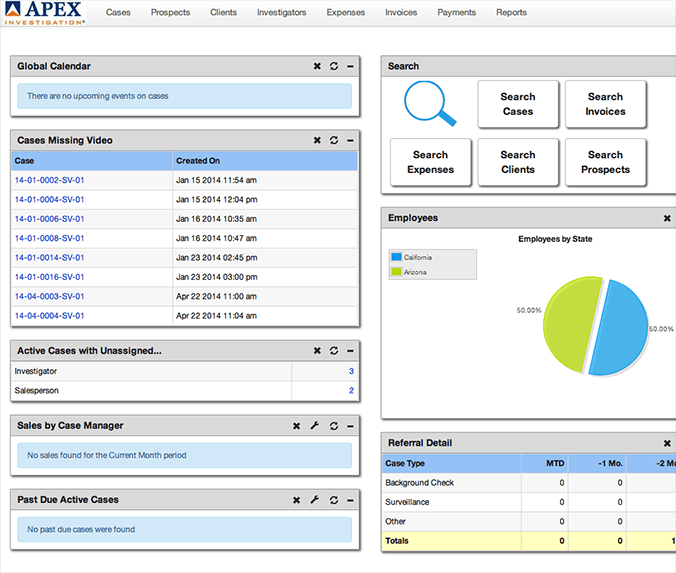 Apex Management Software