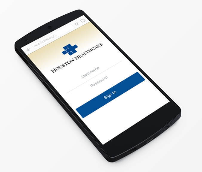 Houston Healthcare Mobile App