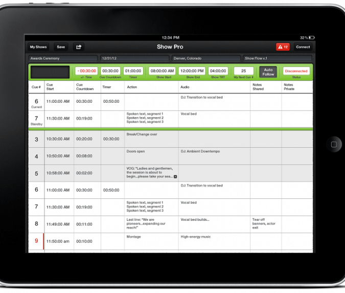 Show Pro Software Releases Show Management Software