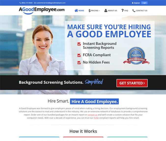 Employee Background Screening Software