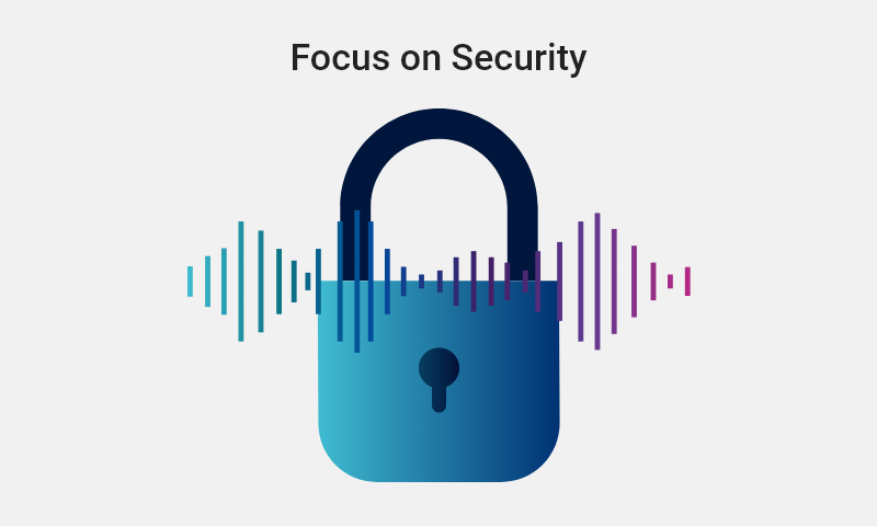 5. Focus on security