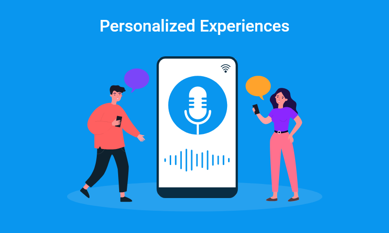3. Personalized experiences