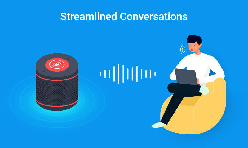 1. Streamlined conversations