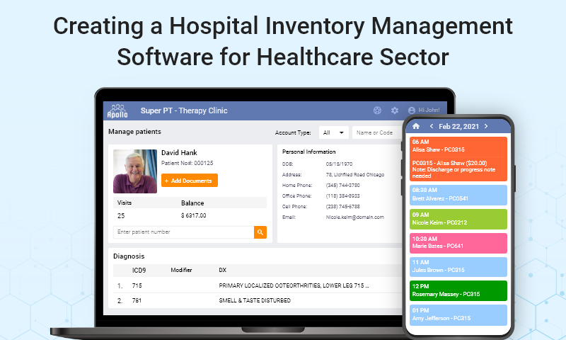 Creating A Hospital Inventory Management Software for the Healthcare Sector