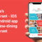 Duryea's Restaurant – iOS And Android App For A Fine-dining Restaurant